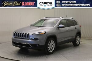2014 Jeep Cherokee Limited 4WD **New Arrival**