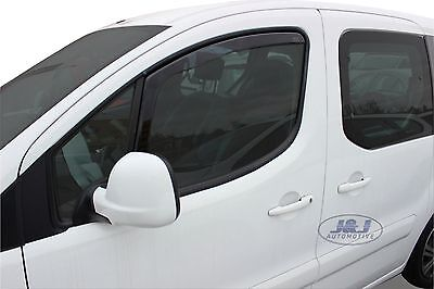 CITROEN BERLINGO 2008-2015 Front wind deflectors 2pc set TINTED HEKO