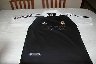 T-Shirt Vintage of The Real Madrid Adidas Size M Advertising Madrid.com Shirt