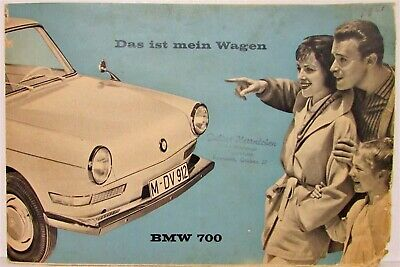 1961 BMW 700 Sales Folder - German Text