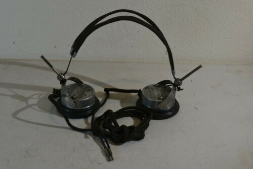 Peerless Battery Radio/Telegrapher Headphones           #722