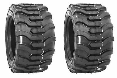 Two 23x8.50-12 Tiron R4 Fits Kubota John Deere Tires Skid Steer Compact Tractor