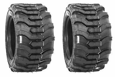 Two 23x8.50-12 Tiron R4 Fits Kubota John Deere Tires Skid Steer Compact Tractor