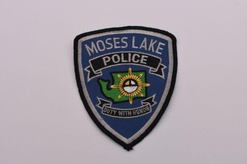 Moses Lake Washington Collectible Police Shoulder Patch
