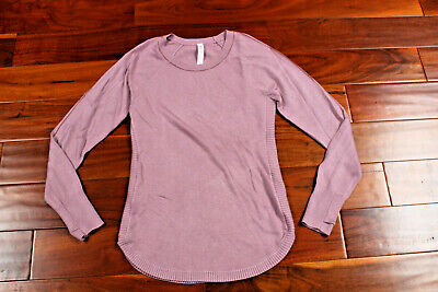 NWT Lululemon Hello Aloe Pullover Sweater ANTE/FIGU Light Purple Lilac 4 $118