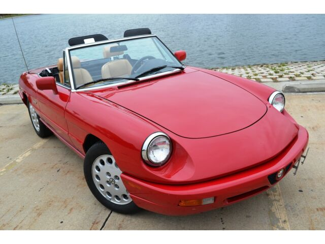 Image 1 of Alfa Romeo: Spider Red…