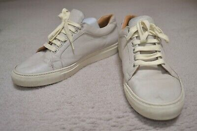 Armando Cabral Broome Low Top Trainer Sneaker Shoes Size 11 Euro size 44 Leather