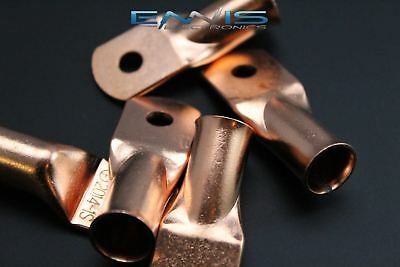20 Gauge Copper 14 Ring 10 Pk Crimp Terminal Connector Awg Battery Cur2014