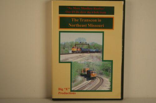 """DVD The Transcon in Northeast Missouri - Big """"E"""" Productions"""