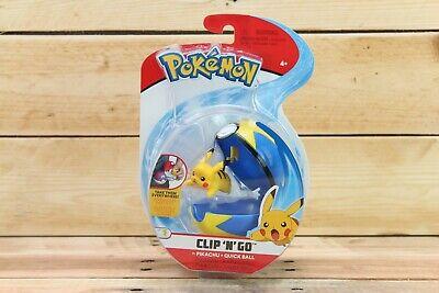 Pokemon Clip 'N' Go Pikachu & Quick Ball Figure