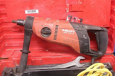 Hilti Dd-110d Core Drill 115vac 604wside Handle And Case