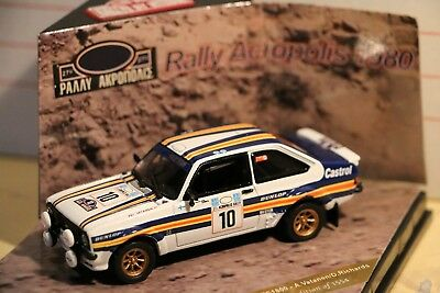1/43 Vitesse Ford Escort RS 1800 winner Acropolis 1980 Vatanen limited edition