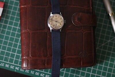 Junghans Vintage Military Style Wristwatch