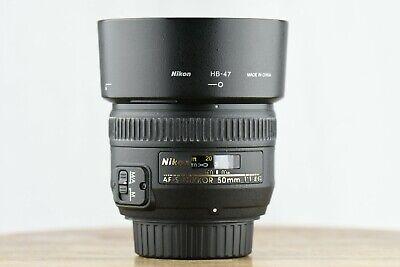 Nikon 50mm f/1.4G Potrait Prime/Fixed Lens for Fx/Dx AF-S