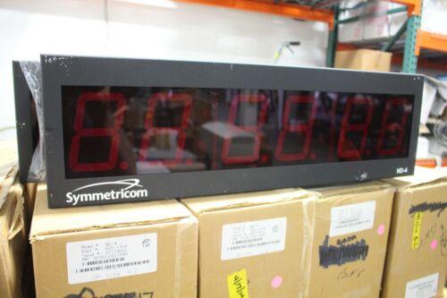 Symmetricom Digital Time Clock Model ND-4 NEW