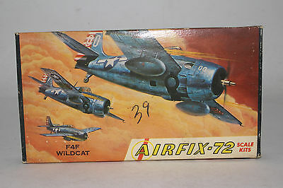 AIRFIX F4F WILDCAT, 1:72 SCALE, BOXED