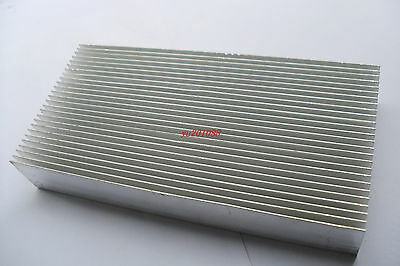 160x80x26.8mm Heatsink DIY Aluminum Heat-Sink for LED, Power Transistor