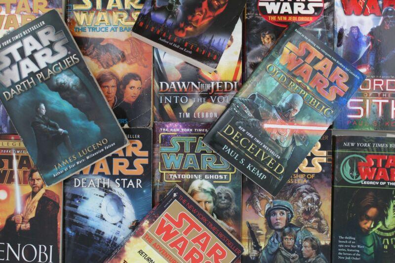 Lot of 5 Star Wars Mass Market Paperback Books MIX