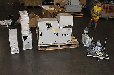Edax Eagle Ii X-ray Spectrometer Machine Phoenix Computer Edwards 8 Vacuum Pump