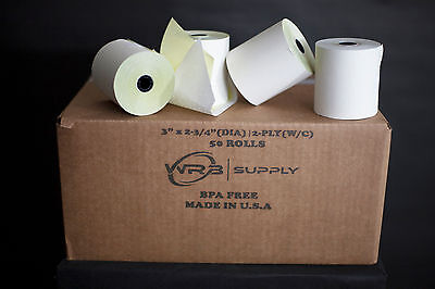50 Roll Carbonless Paper (2-ply 3