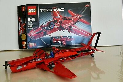 LEGO Technic Jet Plane (9394) - Complete Set w/ Box and Instructions