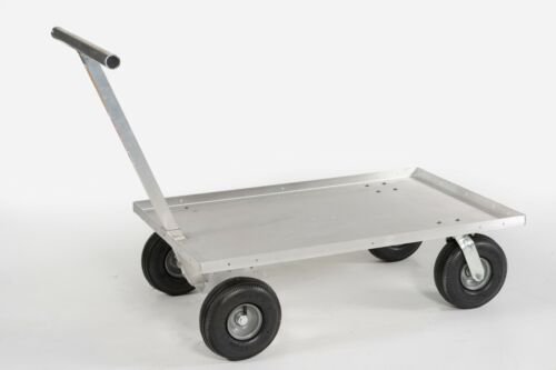 Push Wagon All Aluminum Push Cart All purpose-Commercial Quality- Made in USA