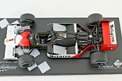 DIE CAST 1/18 Solido A.Prost collection Mclaren F1 MP4/2C 1986 n°1 1:18