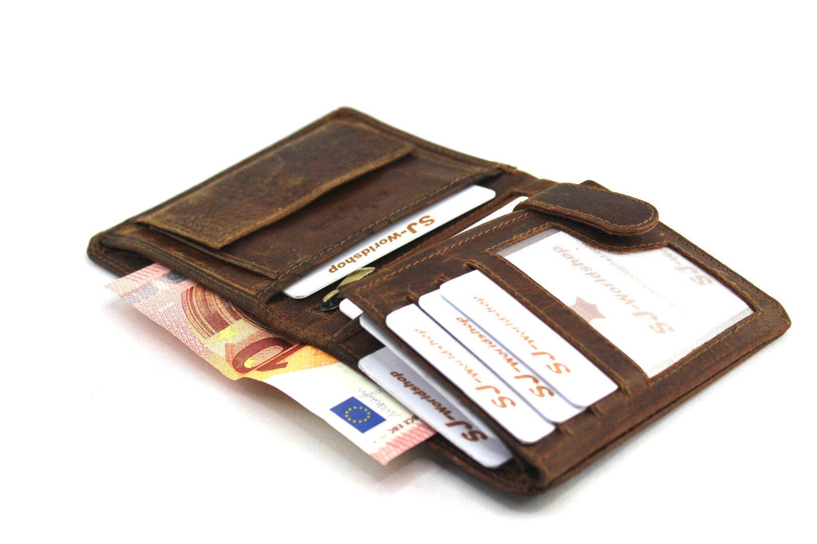 echt leder herren portemonnaie brieftasche geldb rse. Black Bedroom Furniture Sets. Home Design Ideas