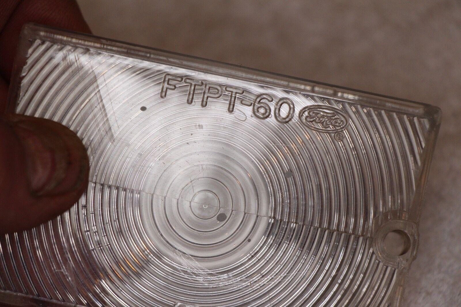Genuine OEM 1960 Ford Falcon Parking Light Lens FTPT-60