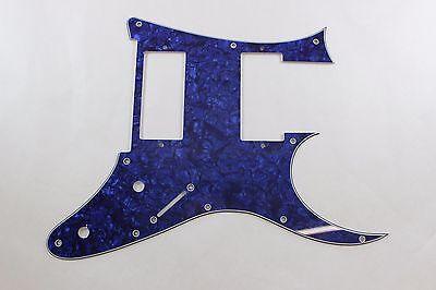 Blue Pearl Pearloid Pickguard Fits Ibanez (tm) Universe UV UV777 7 String- HXH for sale  Plainfield