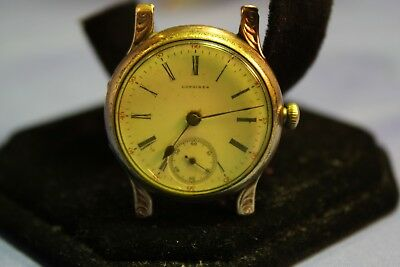 Vintage Authentic LONGINES  Wind up  '50s  Watch Roman Style Numbers