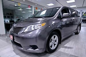 2017 Toyota Sienna LE CLEAN CARPROOF, NON SMOKER, LOW MILEAGE