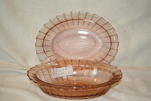 Sierra pink (2) Oval Vegetable Bowls