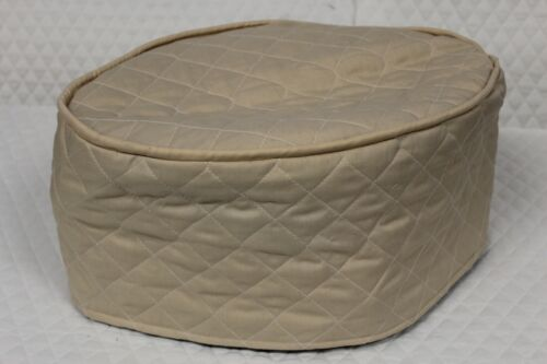 Beige Quilted Appliance Cover (Slow Cooker)