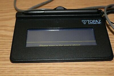 Topaz Signature Capture Pad