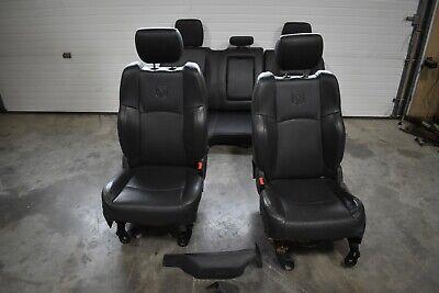 Black Crew Cab Leather Seat Set  - 2011 10-12 Ram 2500 Diesel #11-4278