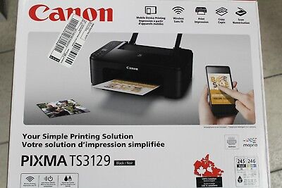 New  Canon Pixma Ts3129 Wireless All In One Inkjet Printer  Msrp  99 99
