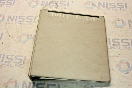 HP 04145-90310 4145B Semiconductor Parameter Analyzer Operation Manual