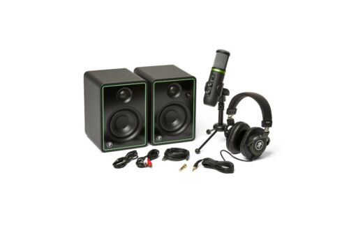 Mackie Creator Bundle - Incl. Studio Monitors, USB Microphone and Headphones