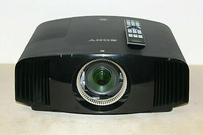 Sony VPL-VW600ES True Native 4K 3D SXRD Theater Projector Ext Lamp & 3D Glasses!