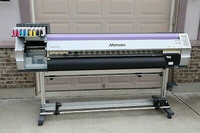 Mimaki Jv33-160 Solvent Printer New Head Mutoh Roland Graphtec Summa Plotter