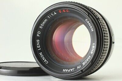 【EXCELLENT+5】 Canon FD 50mm f/1.4 S.S.C. SSC MF Standard Lens from Japan #102