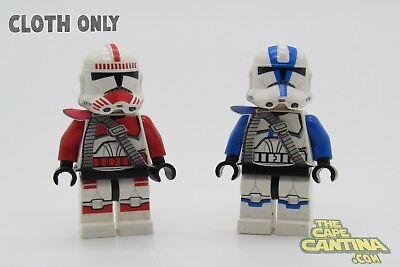 LEGO Star Wars Minifigure Lot of 2 Clone 501st/Shock Trooper Custom Belt (Custom Lego Star Wars Clone Trooper Minifigures)