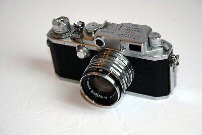 Canon IVSB2 Rangefinder Camera - <E-P> Insignia Beautiful Condition - CLA'd