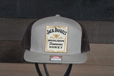 Jack Daniel's Tennessee Honey Whiskey Patch on Richardson 168 Trucker Hat
