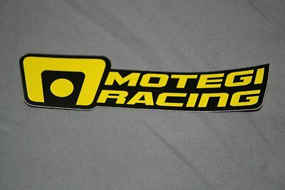 Motegi Racing Window Sticker Decal Yellow DieCut Decal