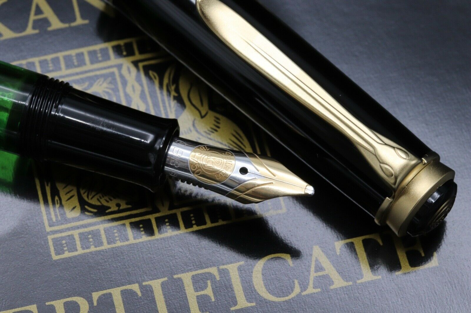 Pelikan M700 Toledo Fountain Pen - OBB PF Nib - UNUSED - W.Germany 2