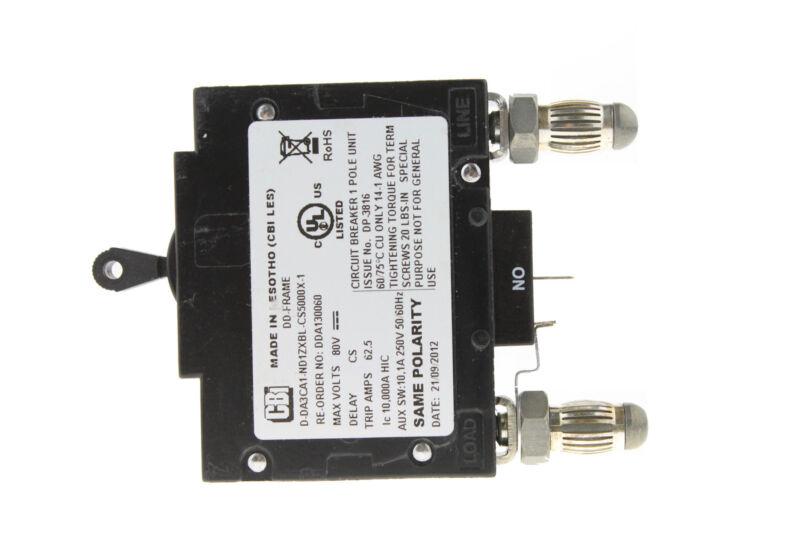 Circuit Breakers & Disconnectors New CBI D2ALX20061 15 Amp 1 Pole ...
