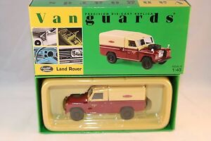 Vanguards-Corgi-VA07602-Land-Rover-Britsh-Rail-1-43-mint-in-box