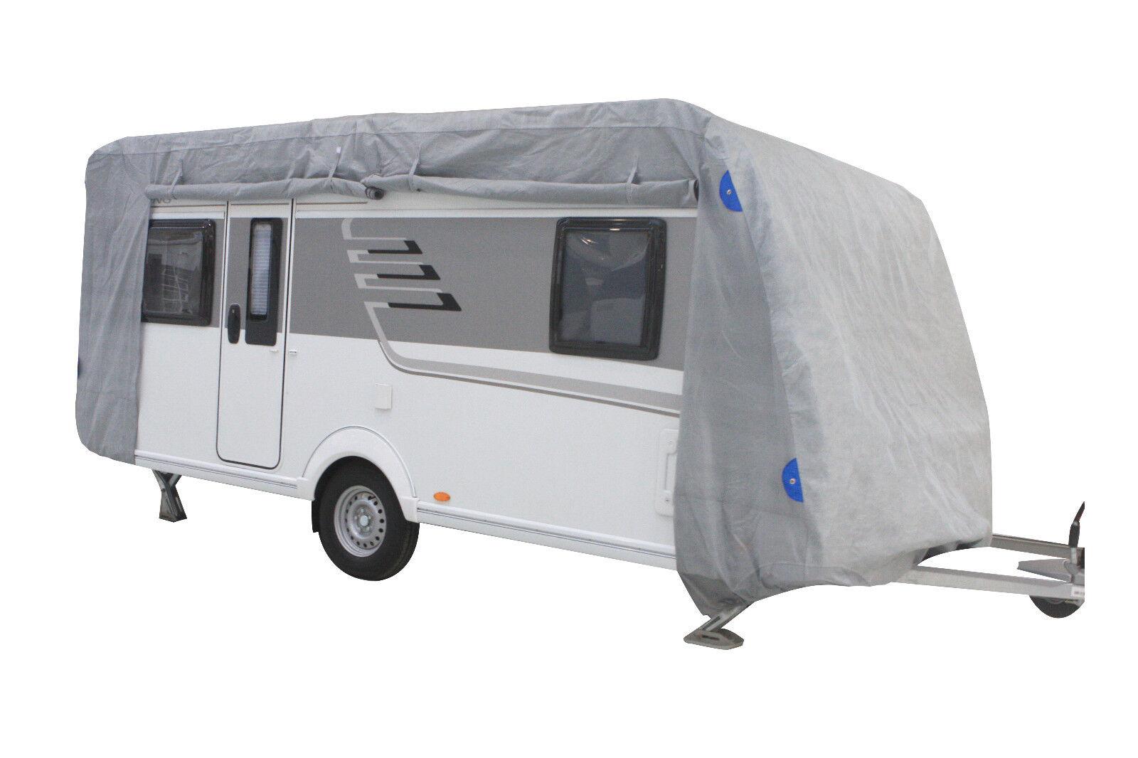Details zu Wohnwagen Schutzhülle S/M/L/XL/XXL Abdeckplane Garage  Schutzfolie Abdeckung